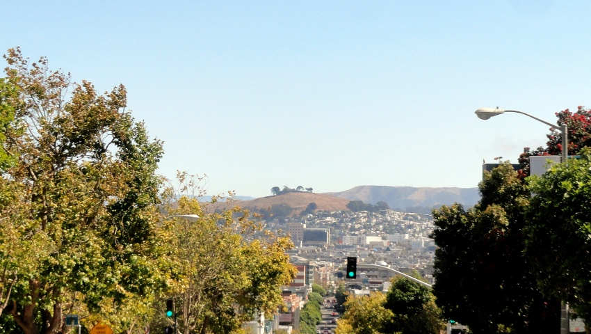 Bernal Hill from Cathedra Hill