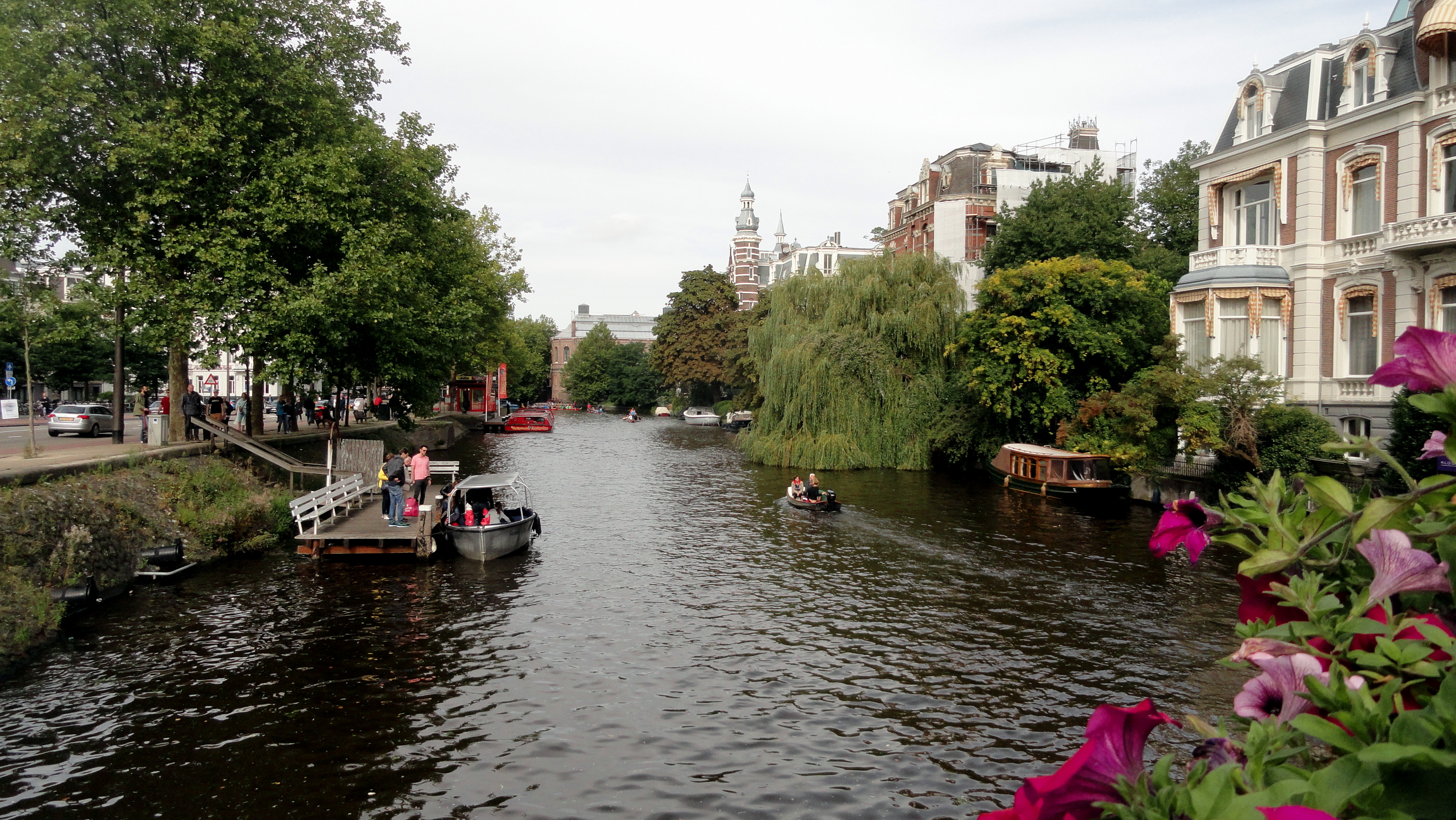 Boat-Filled Canal