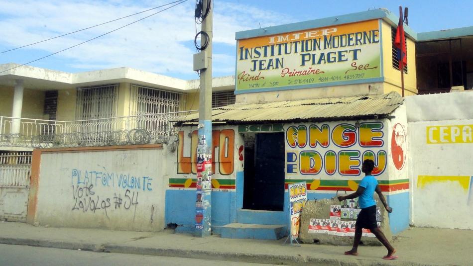 Campaign Lavalas Graffiti