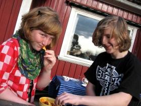Alingsas - Sara & Alexander Snack on Deck