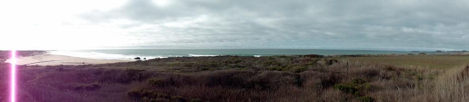 Ano Nuevo Coastal Panorama