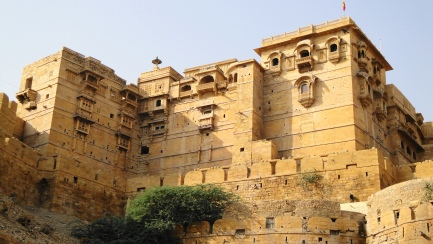 Jaisalmer Fort from Below