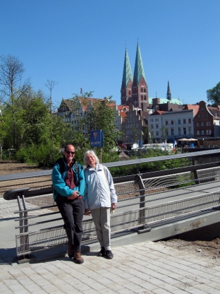 Mutti & Paul in Lubeck