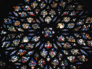 SG Sainte Chapelle Rose Window 2