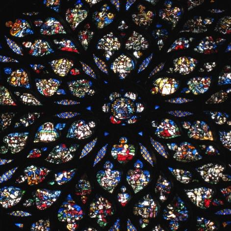 SG Sainte Chapelle Rose Window 2