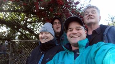 Mom Steve Paul Chuck Selfie