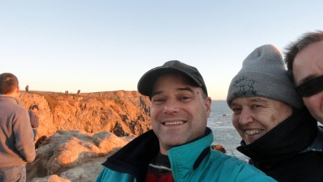 Paul Mom Steve Selfie Bodega Head