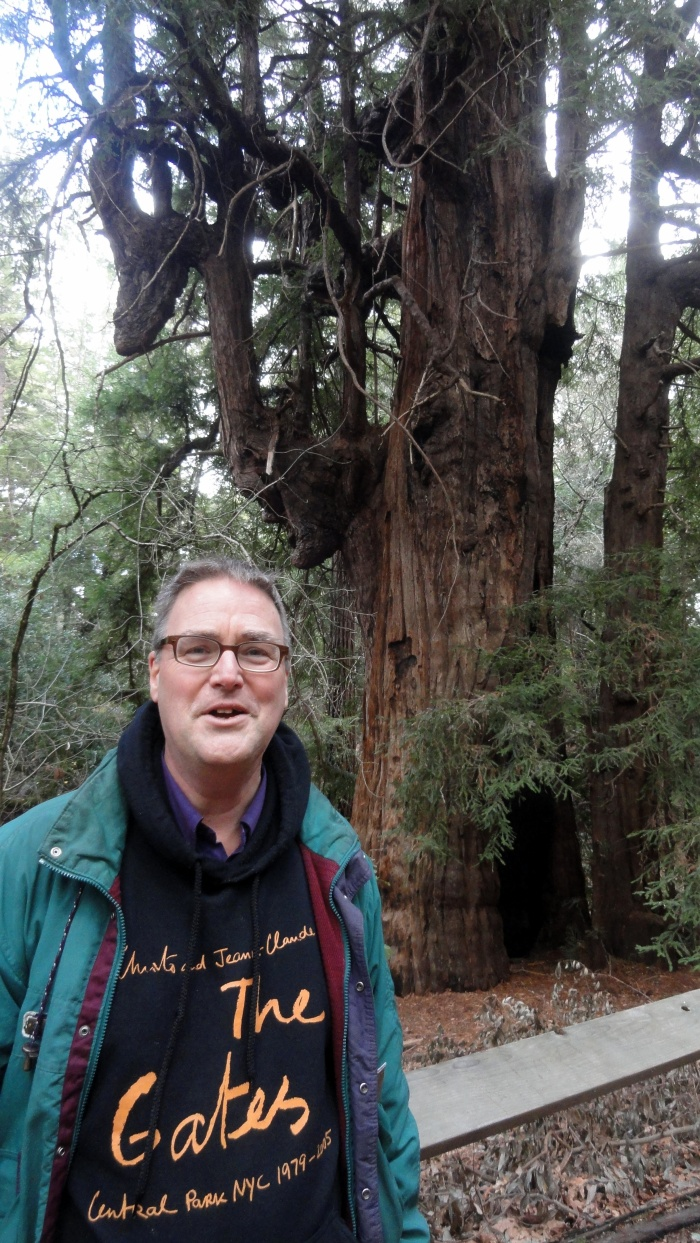 Steve at Jack London SHP Redwood