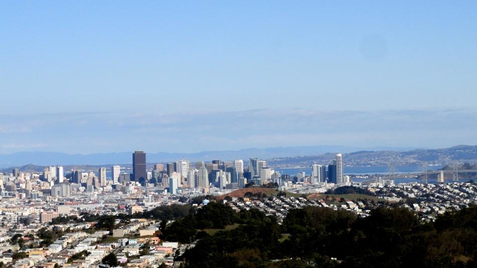 City from SB Mtn