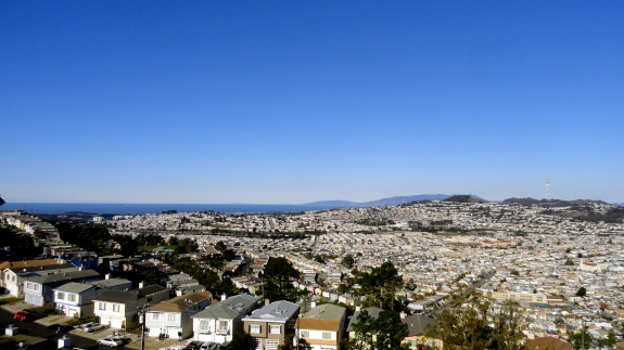 North & Ocean View from SB Mtn