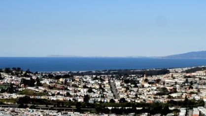 Ocean Marin & Point Reyes from SB Mtn