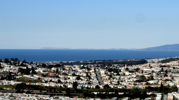 Ocean Marin & Point Reyes from SB Mtn