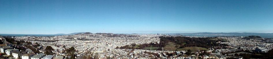 Pano from San Bruno Mtn