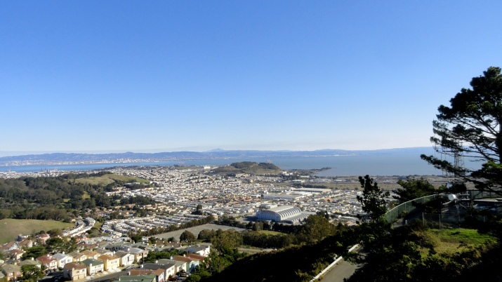 View from San Bruno Mtn 1