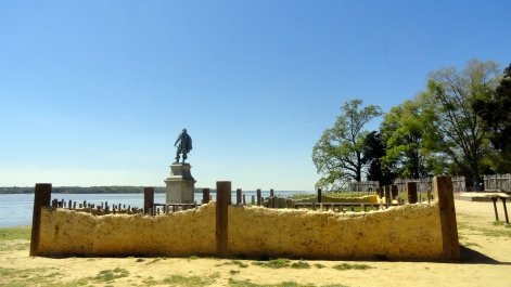 Jamestown Settlement Statue