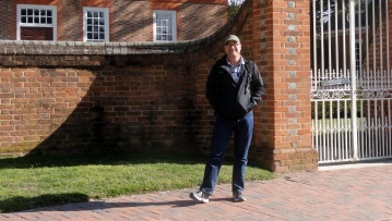 Paul at Governor's Palace