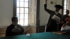 Steve in Colonial Capitol Building 1