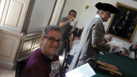 Steve in Colonial Capitol Building 2
