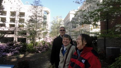 Steve Mom Judy VA Capitol Grounds 2