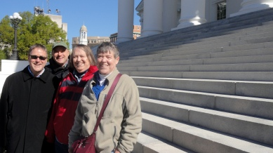 Steve-Paul-Mom-Judy Capitol Steps