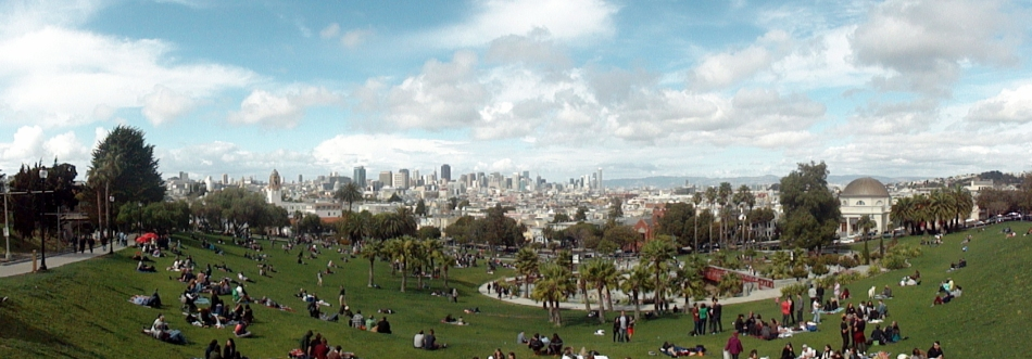 Dolores Park Overlook Pano