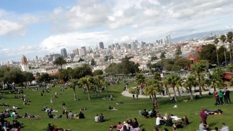 Dolores Park Overlook