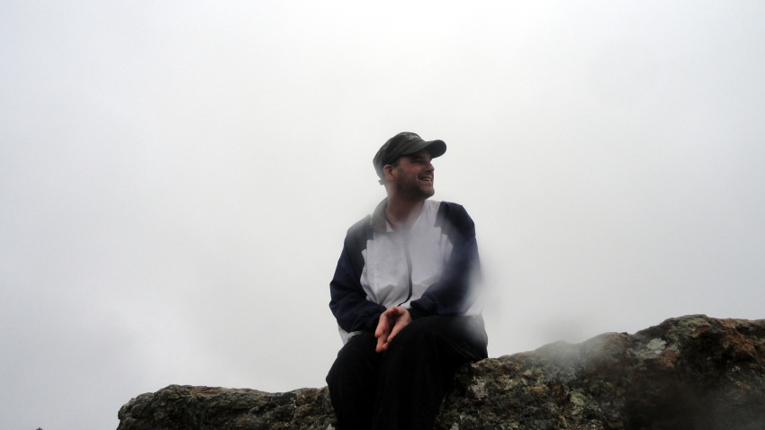 Paul at Gunsight Rock Overlook