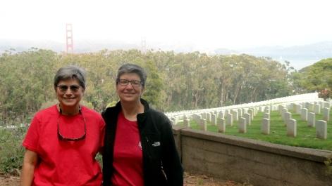 Amy & Nancy at Presdio