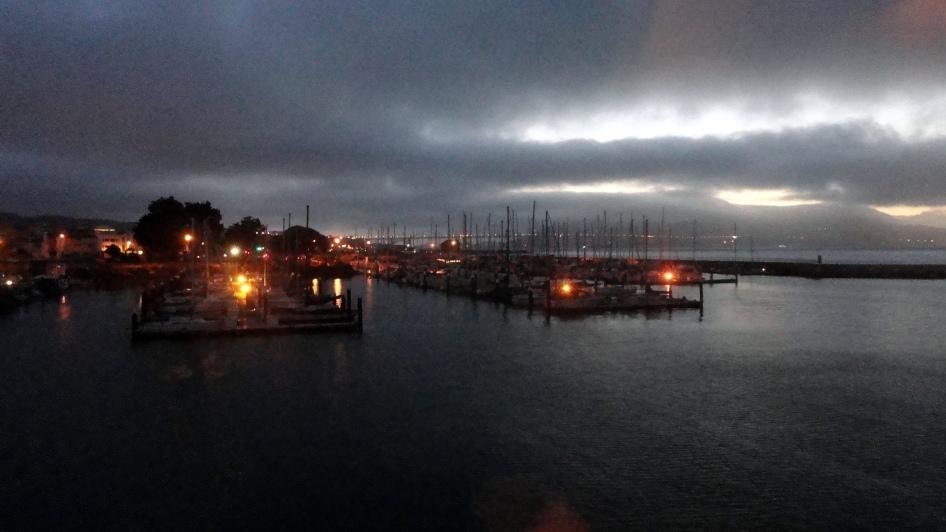 Bridge & Marina from Ft Mason