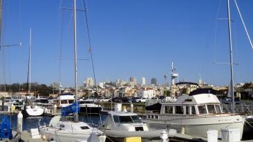 City from Marina
