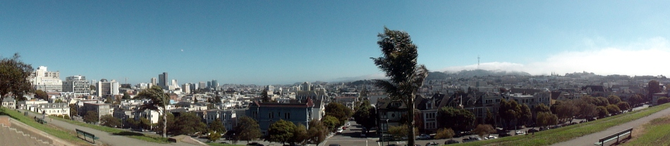 City Pano South from Alta Plaza
