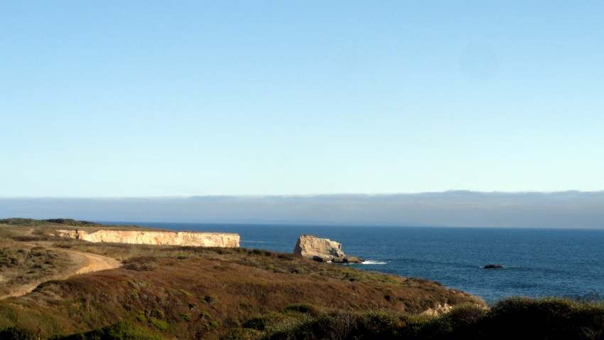 Coastal View Near Santa Cruz