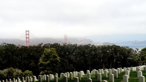 GGB from Presidio Cemetery