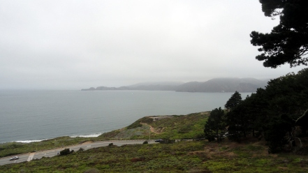 Marin Headlands from Immigrant Point Overlook
