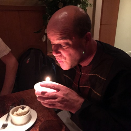 Paul Bday Candle