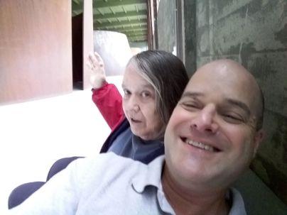Mom & Paul at DIA Beacon
