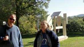 Steve & Mom on Lawn