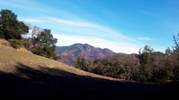 180101 Hood Mtn Gunsight Rock from Annadel