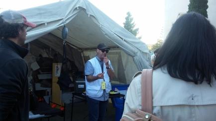 Paul at Med Tent 1