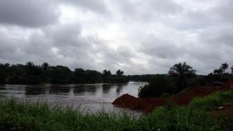 Rain Swollen River