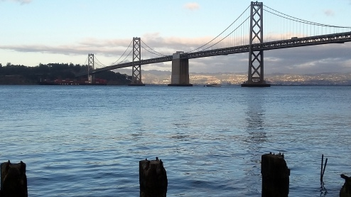 1710 Bay Bridge from Embarcadero 2