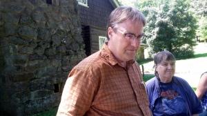 1808 Steve & Mom at Stickley House