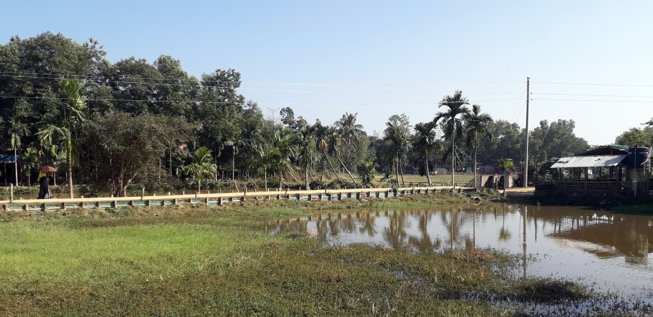 181220 Fields at Balukhali