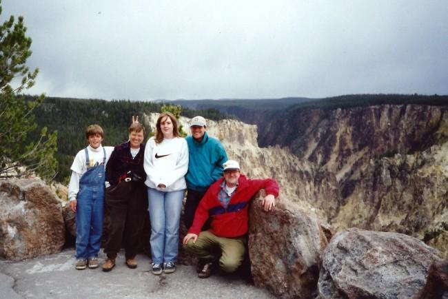 9905 Yellowstone AaronMomHeatherPaulSteve
