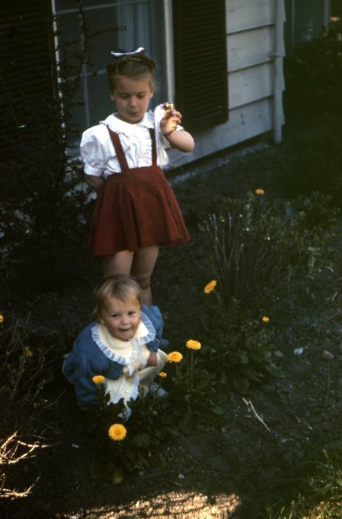 Mom Judy Texas 40s flowers