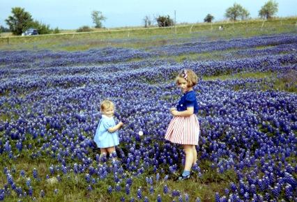 Mom & Judy Texas early 1940s