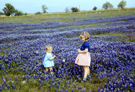 Mom & Judy Texas early 1940s