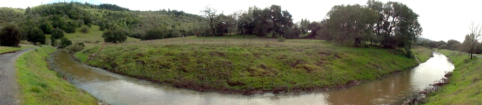 190214 Flooded Annadel Pano