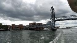 Memorial Bridge Raised
