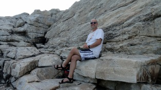 Paul on the Rocks